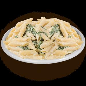 Penne-spinaci-mozzarella