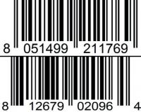 cafe vetro barcode