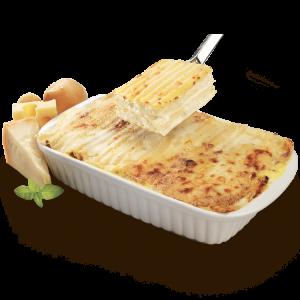 lasagna 4 cheese teglia